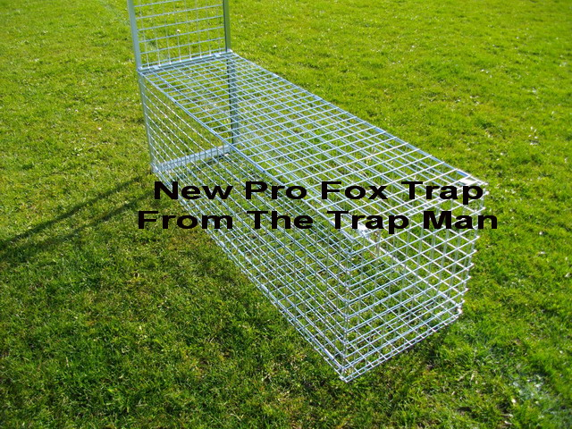 "Dimensions of our Professional fox cage trap are a FULL 5ft long x 20"" tall x 18"" wide.(not including the slide assembly which is 38"" tall)"